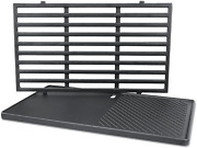 17.5″ Replacement Grill Grate And Griddle For Weber Spirit E210 E220 S210 S220
