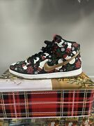 Nike Dunk X Concepts Ugly Christmas Sweater Special Box Size 10.5