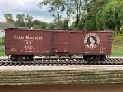 Pacific Limited O Scale Brass Pl-1750 Great Northern Truss Rod Box Car Wood Ends