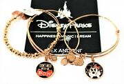 Alex And Ani Disney Parks Minnie Mouse Don't Mess With The Bow Bracelet 3 Bangle