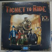 Ticket To Ride 10th Anniversary Board Game Days Of Wonder