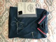 Autographed Uda Tiger Woods Polo Signed Shirt