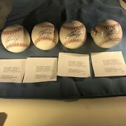 Ken Griffey Jr Autographed Baseball. Limited 1000 .welcome Back To Seattle