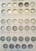Complete 30 Coin Liberty V Nickel Set 1883 To 1912d - No 85,86,12s