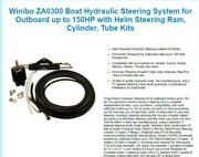 Winibo Za0300 Boat Hydraulic Steering System For Outboard Up To 150hp With Helm