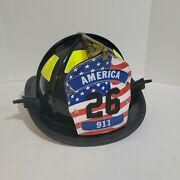 Vintage Cairns And Brother Fire Helmet Fireman Collectible America 911