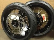 Warp9 Supermoto Wheels And Tires For Suzuki Dr650 In Stock Ready To Ship