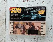 Vtg 1995 Star Wars Authentic Limited R2-d2 Edition 70mm Collector Film Frame Nos
