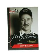 New - Old Stock 1993 Nhra Jerry Eckman Autograph Silver Signature Series