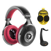Focal Clear Mg Professional Open-back Headphones W/ Stand And Earpad Covers