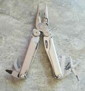 Leatherman Wave And Multiple Tools Hand Tools Ca21, Silver, Working