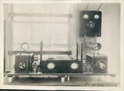 1931 Press Photo Us Army Signal Corps Mcaragna Frank Cobrin Transmitter Business