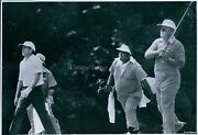 1981 Miller Barber Tees Off On 8 With Gene Littler World Snrs Sports Photo 7x9