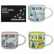 New Disney Parks Starbucks Set 3 Star Wars You Are Here Mugs Bespin Dagobah Hoth
