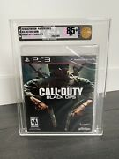Call Of Duty Black Ops Playstation 3 Ps3 Gold Graded Vga 85+ First Print Sealed