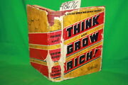 Hill Napoleon Think And Grow Rich 1937 Dj Tattered
