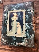 Celluloid Victorian Photo Album + Old Photos Including Tintypes