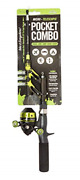 Steinhauser Pocket Combo - Tangle-free Telescopic Fishing Rod And Spincast Reel