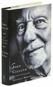 Sheridan Morley / John Gielgud The Authorized Biography Signed 1st Edition 2002
