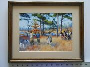 Aiden Lassell Ripley Covey Rise At Goose Pond Framed 11x14 4.0ao239