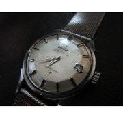 Antique Omega Constellation Piepan 34mm Bracelet Watch Menand039s Used