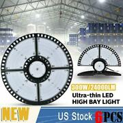 6x300w Ultra-thin Led High Bay Light Deformable Mining Lamp Warehouses Garages
