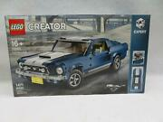 Lego Creator Ford Mustang Gt Set 10265 New/other-damaged Box