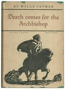 Willa Cather / Death Comes For The Archbishop 1st Edition 1927