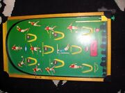 Vintage Kay Cup Final Football Bagatelle Game Great Condition