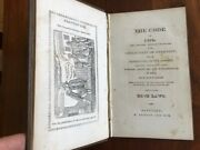 Rare 1842 Connecticut Blue Laws Of 1650, Colonial Ct Quakers, Salem Witch Trials