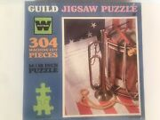 Vintage Guild Declaration Of Independence Jigsaw Puzzle 304 Pcs 14x18 In Sealed