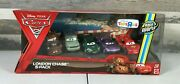Disney Pixar Cars 2 London Chase 5-pack Race Around The World Toys R Us Cars108