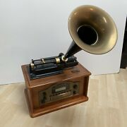 Spirit Of St. Louis Classic Home Edition Phonograph Cd Am/fm Stereo Radio