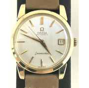 Antique Omega Seamaster Date 14762 62 Sc 1960s Watch Self-winding Used