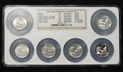 6 Coins 2004-d Wisconsin Ms-66 Error High And Low Extra Leaf Washington Quarters
