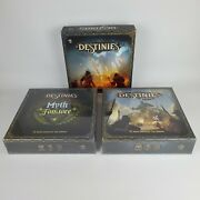 Destinies Board Game + Myth And Folklore + Sea Of Sand Expansion Lucky Duck Read