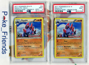 Pokemon Gigalith Staff And Non Staff Prerelease Emerging Powers Holo Bandw Psa 9 / 9
