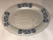 Pfaltzgraff Yorktowne Oval Turkey Platter 18 1/4 Vintage And Made In The U.s.a