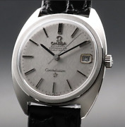 Antique Omega Constellation Cal.564 Silk C Line Automatic Watch 1969 Men Used