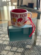 Starbucks You Are Here Ornament New York