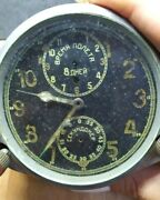 8-day Soviet Wwii 1939-made Airforce Cockpit Panel Clock-jaeger Clone-not Work