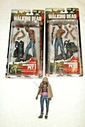 Walking Dead Mcfarlane Action Figure Michonne And Pets One And Two Series 3
