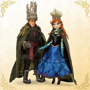 Disney Store Anna And Kristoff Doll Set - Fairytale Designer Collection