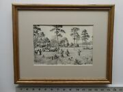 Aiden Lassell Ripley Walking Up 11x14 Etching Reproduction 6.1se771