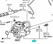 Toyota Genuine 22100-30090 Injection Or Supply Pump Assy Hiace Regiusace Dyna