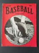 Vintage Baseball Magazine April 1940 Who Will Win The Pennant  M2078