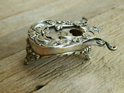 Rare Antique George W. Shiebler And Co Sterling Silver Desk Top Cigar Cutter