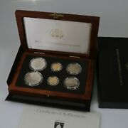 United States Mint 1989 Congressional Coins 6 Coin Set Gold And Silver Ogp