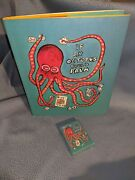 Rare 1st Edition Iaocp Playing Cards Sealed Deck +book If An Octopus Could Palm