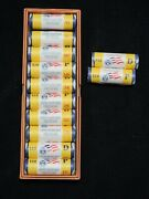 2009 Dc And Us Territory Quarters Pandd Rolls Mint Wrap Complete W Guard House Box